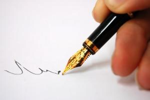 الكتابة والقيود